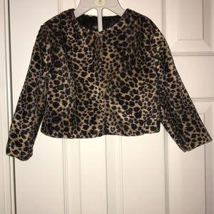 Other - Cheetah Blazer